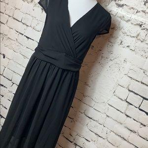 👠NWOT Black Flowy Dress XXL